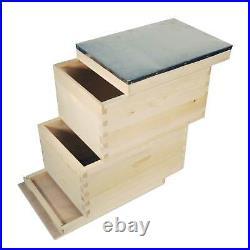 10 Frame Double Beehive Box 20 Frames Australian Bee Hive Langstroth Beekeeping