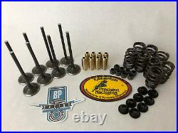 11 12 RZR 900 XP900 Kibblewhite +1 Steel Valves Beehive Springs Head Rebuild Kit
