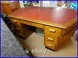 1950s Hex Desk / Beehive Desk