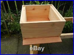 1 National Bee Hive, Cedar wood, Assembled