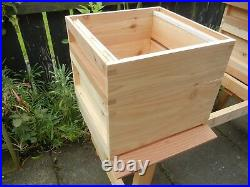 1 National Bee Hive, Cedar wood with frames, Assembled