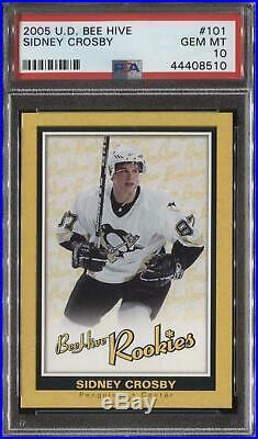 2005/06 Upper Deck Beehive Sidney Crosby Rookie Card #101 PSA 10