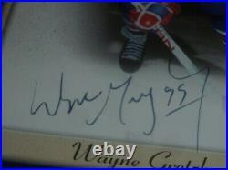 2005-2006 Beehive Jumbo Signed Wayne Gretzky Hockey Card Pg-wg Rare Ud Uda NHL