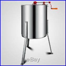 4/8 Frame Honey Extractor Stainless Steel Beehive Drum Tank Bee Equipment