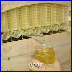 6pcs Bee Auto Honey Beekeeping Beehive Hive Frames Harvesting Tool Kit Beekeeper