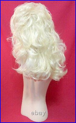 80s 90s DOLLY PARTON Mullet Wig! Custom Costume Drag Queen Blonde ALL COLORS