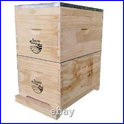 8 Frame Double Beehive Box 16 Frames Australian Bee Hive Langstroth Beekeeping