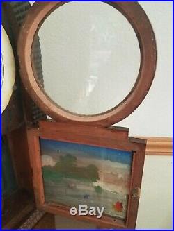 Antique 1800's BEEHIVE Mantel Clock J. C. Brown