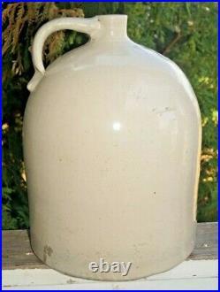 Antique 1920s Era Red Wing Pottery Stoneware 4 Gal Beehive Jug Crock Churn