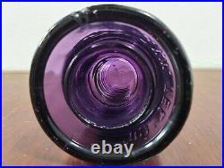 Antique CD 145 Royal Purple G. N. W. TEL. CO. Glass Canadian Beehive Insulator