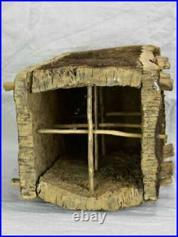Antique French bee skep cork