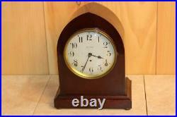 Antique Seth Thomas 8 Day Beehive Style Striking Mantle Clock