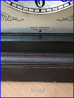 Antique Seth Thomas Beehive Westminster Chime Mantle Clock with 113A Movement