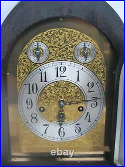 Antique Seth Thomas Chime Beehive Model 72 Fancy Dial Cabinet Clock (Works)