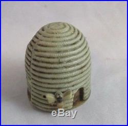 Antique celluloid BEE HIVE TAPE MEASURE c1920's, RaRe