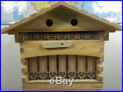 Automatic Wooden Bee Box Bee Hive House Beekeeping Equipment Beekeeper