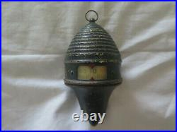 BEE KEEPER'S BEE HIVE THERMOMETER c1900s BRASS WORKING CONDITION & RARE