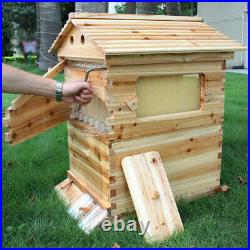 Bee House Flowing Honey Hive Beehive Frames + Beekeeping Brood Made in UK