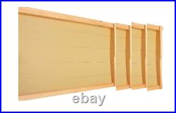 Beehive New Zealand Assembled Painted 20 Assembled Waxed Frames Queen Excluder
