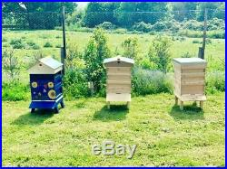 Beehive, bee hive National ASSEMBLED, genuine English red cedar, for honey bees