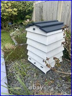 Beehive composter kit Real Wood With Solid Oak Roof For Durability