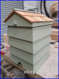 Beehive composter with cedar shingle roof Handmade to order 3 to 4 week lead