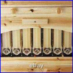 Beekeeping Wooden House Beehive Box with 7PCS Auto Upgraded Flow Frame Food-Grade