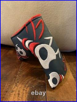 Bettinardi Hive Tour Blue And Red Bee Stinger Head Cover