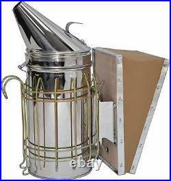 British National Bee Hive With Gabled Roof & Beginners kit inc Suit Smoker Tools