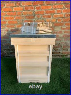British Standard Beehive, Weymouth Pine, Assembled