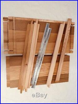 British Standard National Beehive Cedar wood Metal Roof Beekeeping Full Set Hive