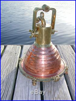 Cargo Copper Beehive Nautical Dock Fox hangin ship Light- medium 12 diameter