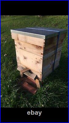 Cedar Bee Hives Complete With Bees