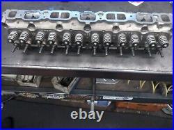 Chevy 250 head. Lump port Complete valve job bee hive springs
