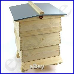 Decorative Beehive Garden Ornament Storage WBC Style Imitation Bee Keeping Pine