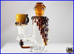 Empire Glassworks 5.5 in. Mini Bee Hive Glass Bong Water Pipe USA MADE