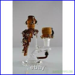 Empire Glassworks 5.5 inch Mini Bee Hive Glass Bong Water Pipe