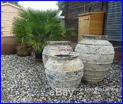 Extra Large Architectural Pot Atlantis Salvage Bee Hive Urn Garden Planter