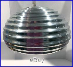 FLOS Splügen Braü Beehive Light EXCELLENT CONDITION! CHROME MCM DESIGN