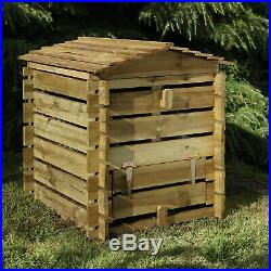 Forest Beehive Composter Garden Recycling Waste Composting Gardening Wooden 250L