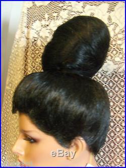 Halloween Special Vegas Girl Wigs Up Do Audrey Hepburn Beehive Sleek Fancy Queen