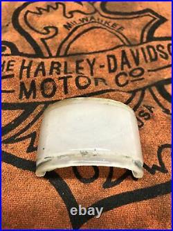 Harley Vintage Knucklehead Flathead Beehive Tail Light Top Glass Lense