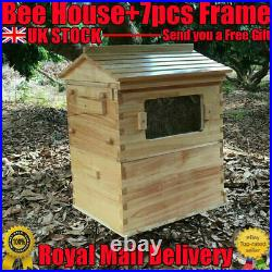High Quality Beehive Auto Beekeeping Brood House Box or 7pcs Honey Hive Frames