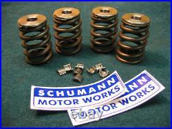 Honda Cb350 Cl350 Cb360 Performance Beehive Valve Spring Kit Titanium Retainers