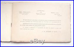 Jordan's Of Bilston Beehive Catalogue Book Enamel Signs 1920s Vintage Retro