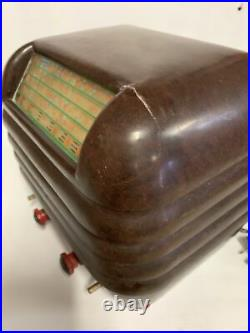 KRIESLER Beehive Vintage Bakelite Valve Tube Radio
