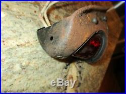 Knucklehead/bobber/flathead/harley 45 Beehive Tail Light Rare Oem
