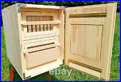 Langstroth Slovenian AZ beehive 20-frames, 2 story with 1- feeder