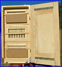 Langstroth Slovenian AZ beehive 30-frames, 3 story with 2- feeder