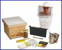 Miller Little Giant 10-Frame Deluxe Beginner Hive Kit. HIVE10KIT for Honey Bees